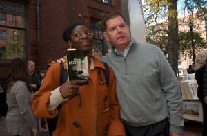 Melissa & Mayor Walsh