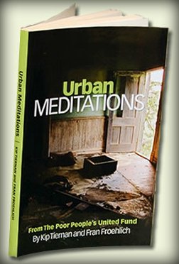 Urban Meditations is outcast political theology by two of Boston's leading advocates, Kip Tiernan and Fran Froehlich. It is a forty-year reflection on life for some in Boston and elsewhere.